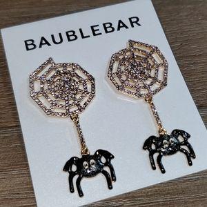 BaubleBar Spiderweb Earrings
